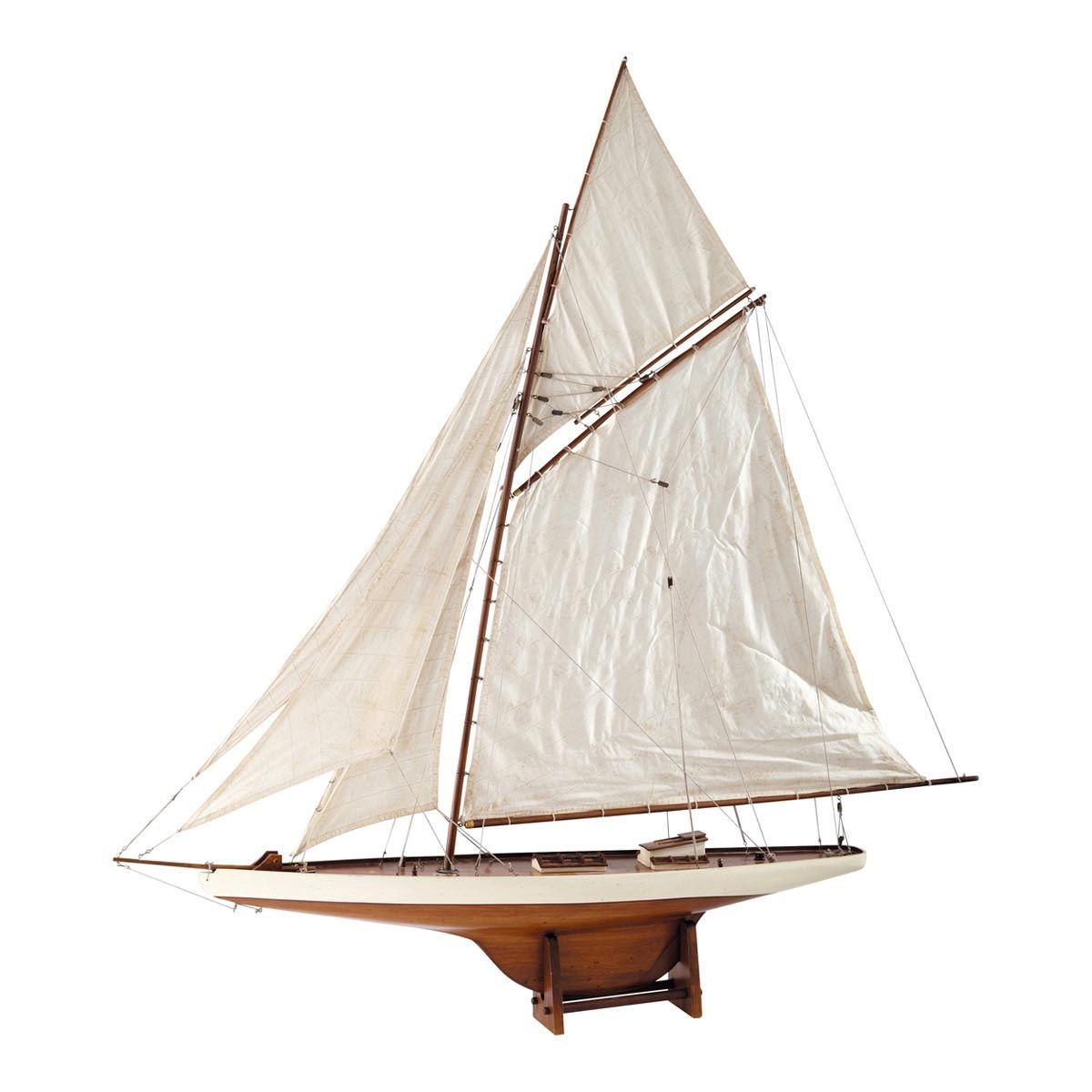 barco decorativo de madera x cm arcachon