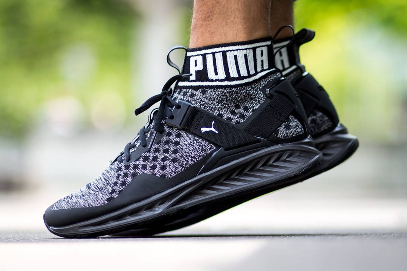 PUMA Enters the Ankle Sock Collar Game With the Ignite evoKNIT in ... dae75dfcb
