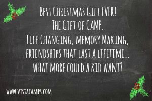 Christmasgift Giftsforkids Summercamp Best Idea Ever Give The Gift Of Camp Christmas Fun Summer Camp Gifts For Kids