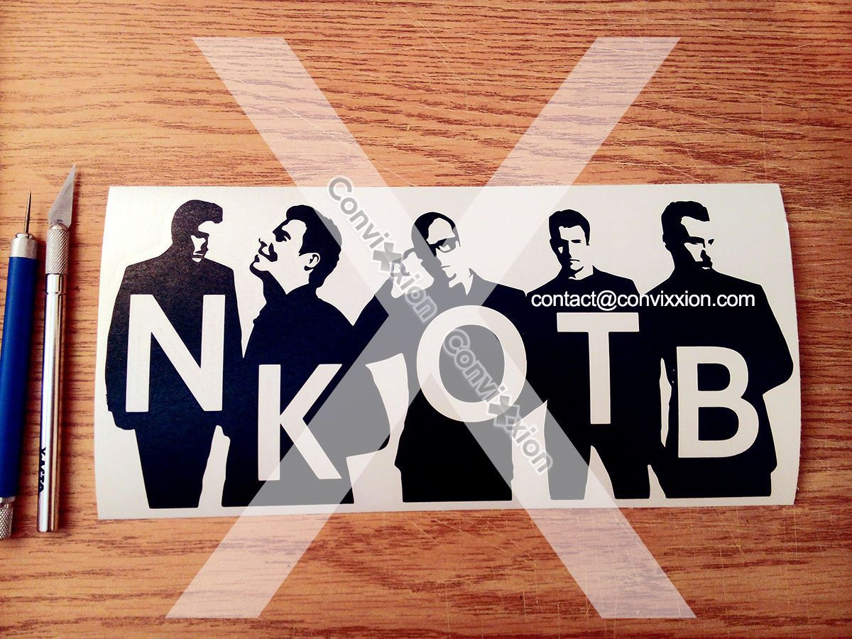 Download Details about New Kids on the Block Decal   Vinyl Sticker ...