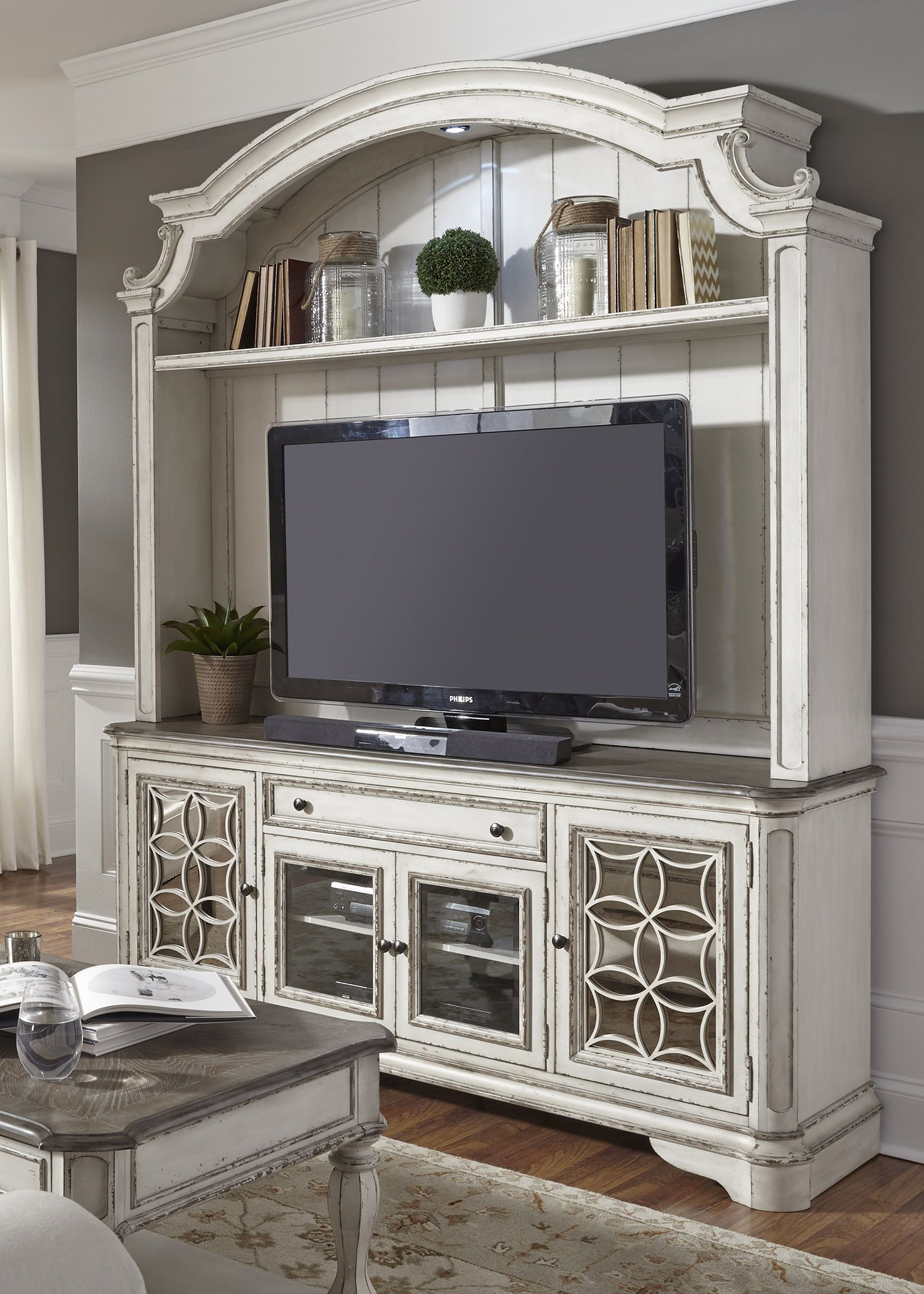 244-ENT-ENC-1 | NHIL-Overstock | Pinterest | Tv walls, Walls and House