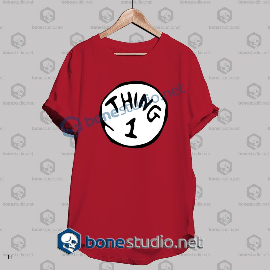 Thing 1 T Shirt – Adult Unisex Size S-3XL