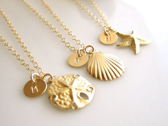 Bridesmaid Gift Set of 3. Cute   Beach Wedding Ideas <3   Pinterest ...