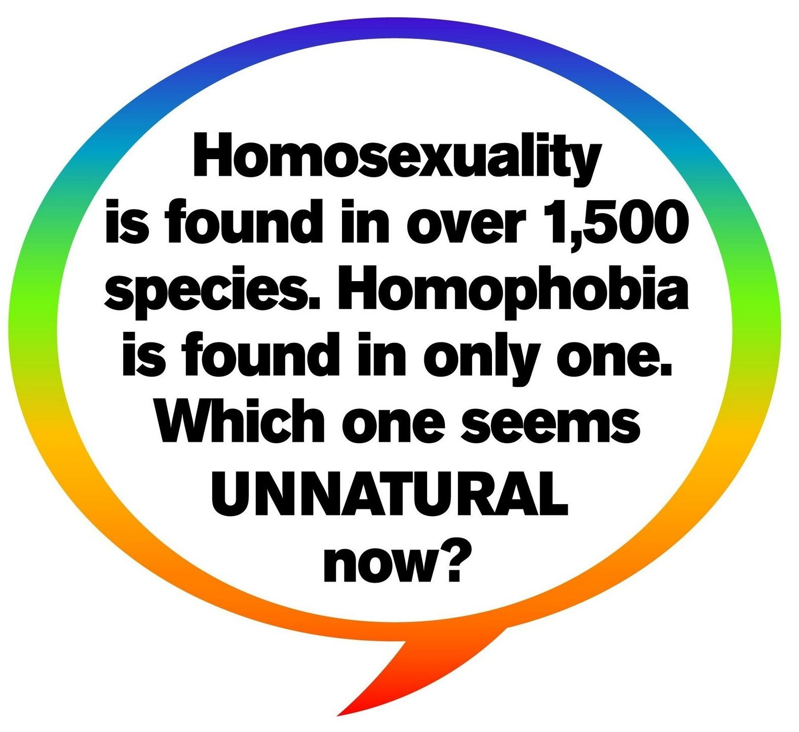 Homosexuality found in different species