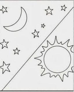 Sol E Lua Criacao Do Mundo Atividades Para Criancas De 2 Anos