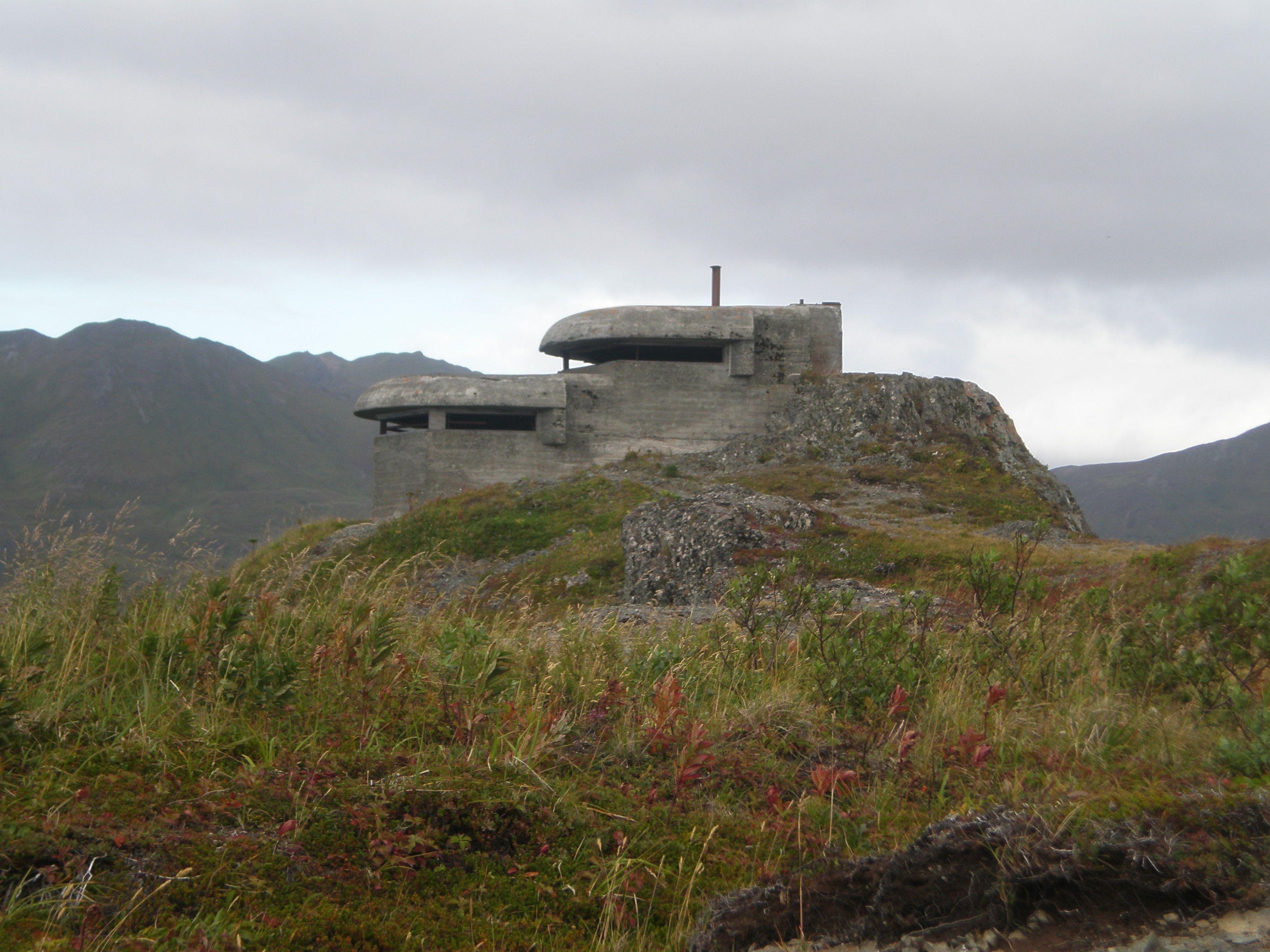 WW2 Bunker in Dutch Harbor, AK