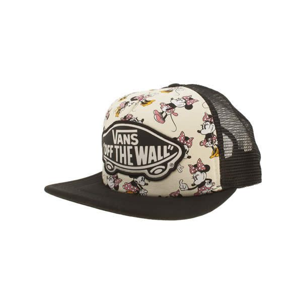4f1c7bc396f Vans Black   Pink Disney Trucker Minnie Mouse Caps And Hats ( 22) ❤ liked  on Polyvore featuring accessories
