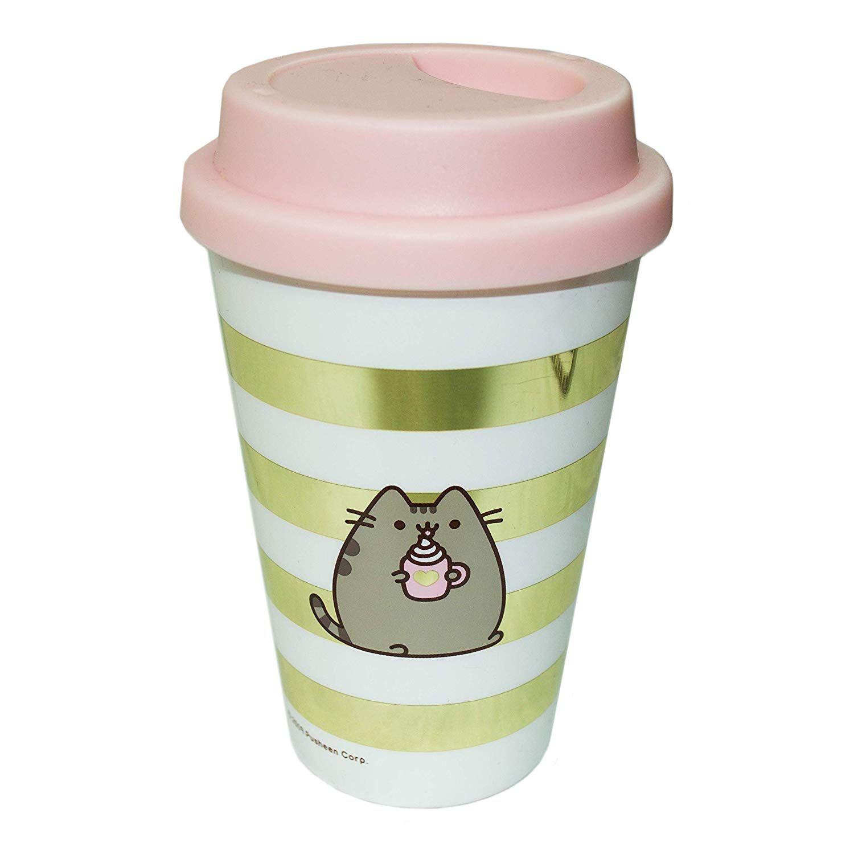 Kubek Podrozny Pusheen Sklep Silvermet Eu Glassware Mugs Travel Mug