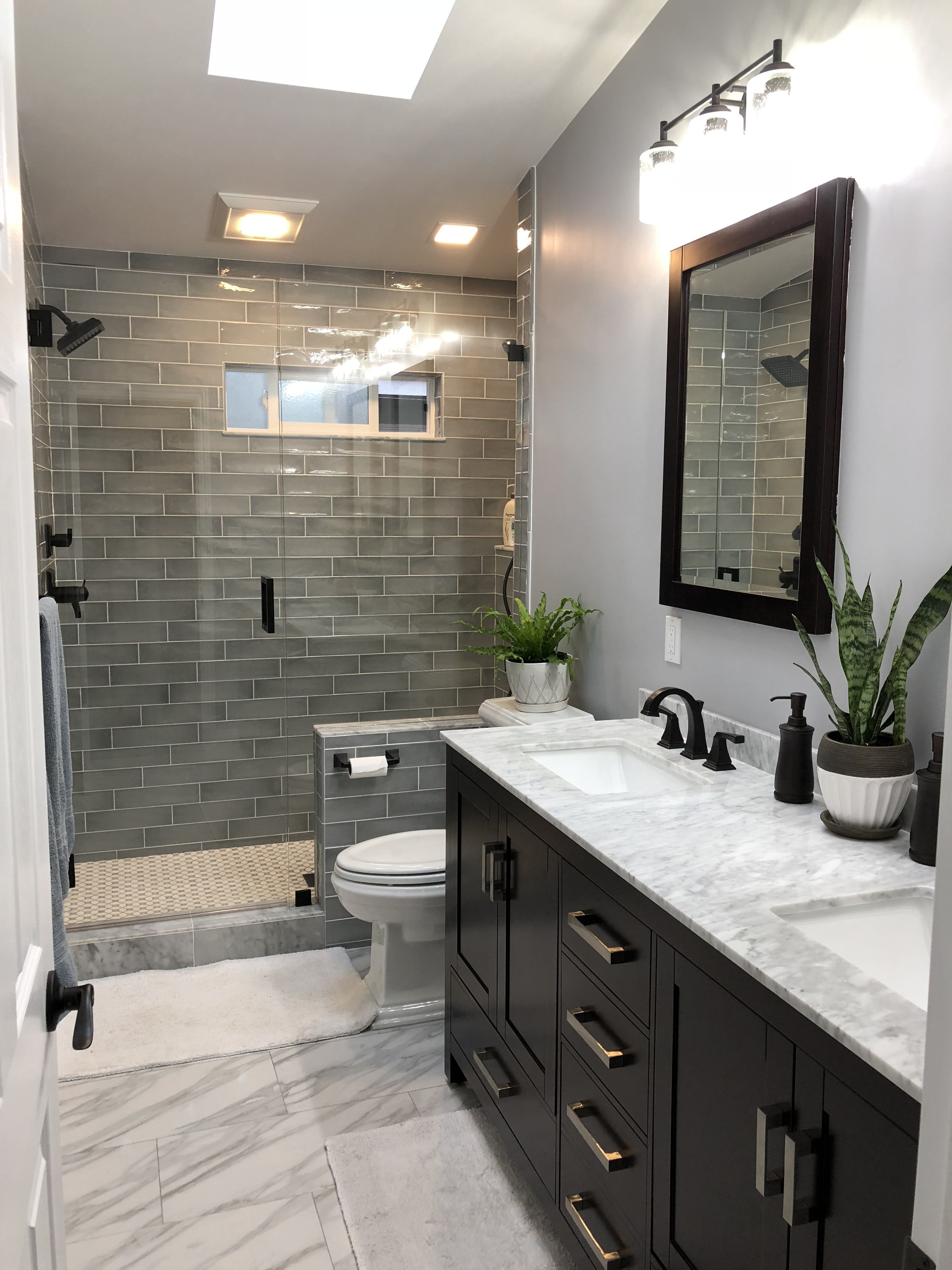 I Like The Extra Storage In The Shower Is Recessed And Hidden Longbathroomdesign Small Bathroom Remodel Bathroom Design Luxury Bathroom Remodel Master