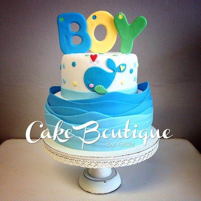Superior Bizcochos De Baby Shower Part - 9: Bizcocho - Baby Shower.. #cakeboutiquebygrisel #babyshowercake #babyshower  #cake #ahoybabyboy