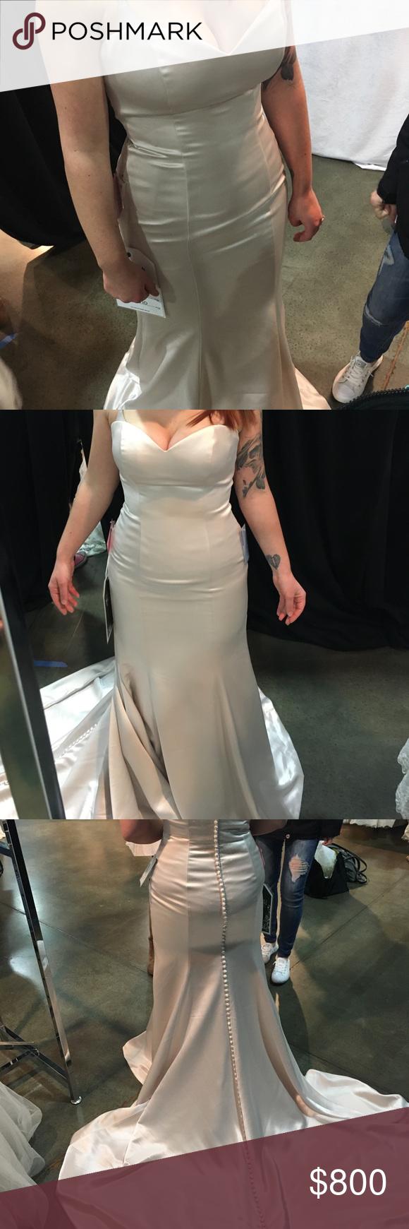 Ksl wedding dress  Justin Alexander Wedding Dress NWT  Size  Corset and Customer