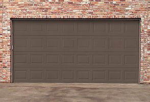 Steel Garage Door Model 173 Traditional Steel Collection