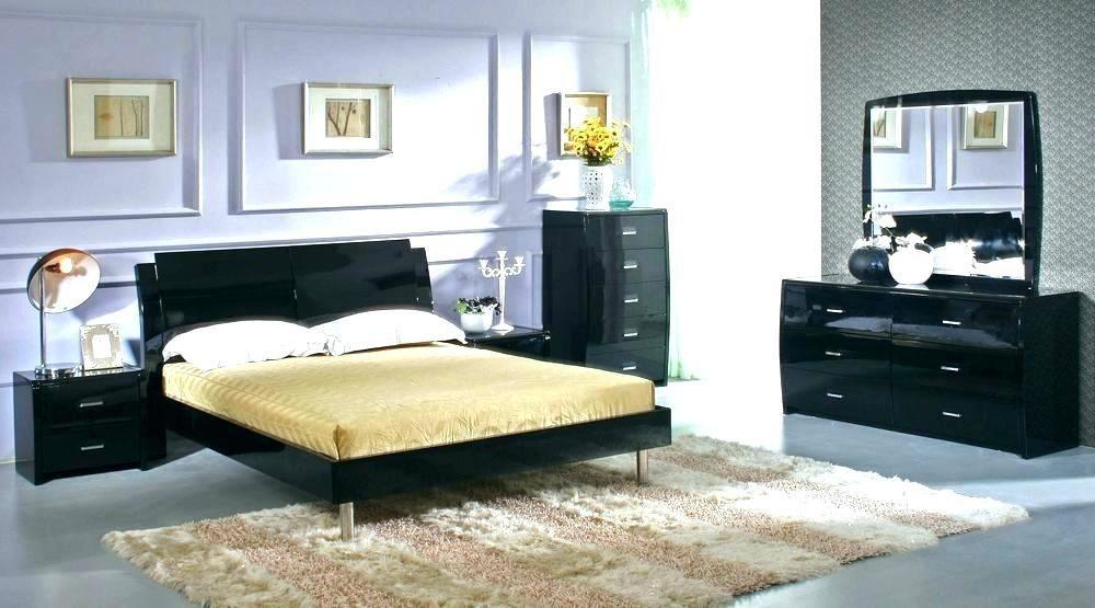 Modern Nice Bedroom Furniture Novocom Top, Black Modern Bedroom Furniture