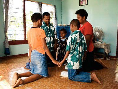 Image result for black family pray