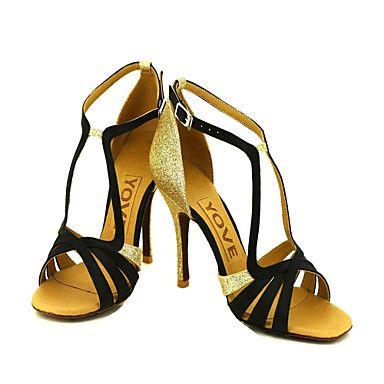 Salsa 34 Salon Latines De 99Femme Chaussures Satin lJcTKF13