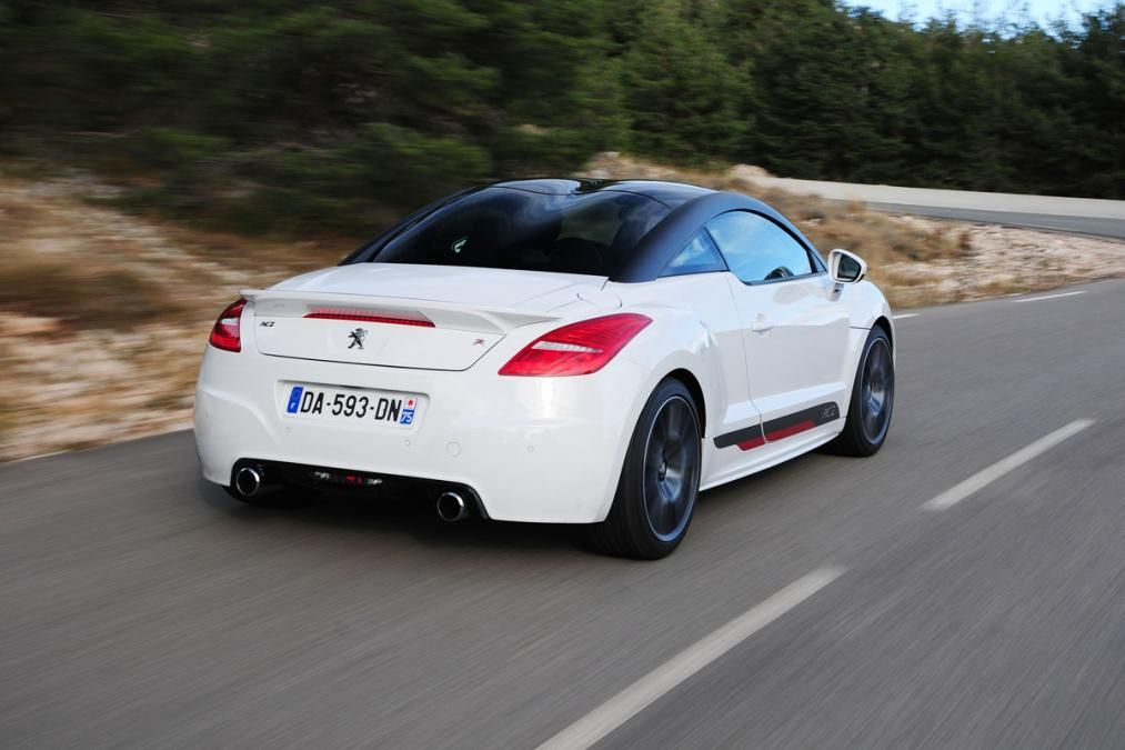 peugeot rcz r white rear peugeot wall pinterest pictures peugeot and review. Black Bedroom Furniture Sets. Home Design Ideas