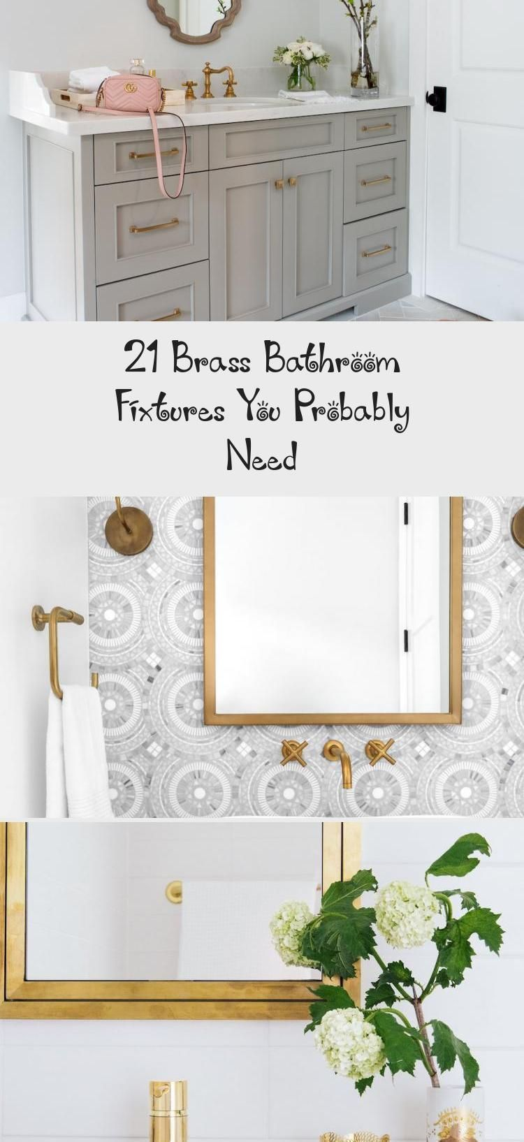 Photo of 21 Brass Bathroom Fixtures You Probably Need – Decoration