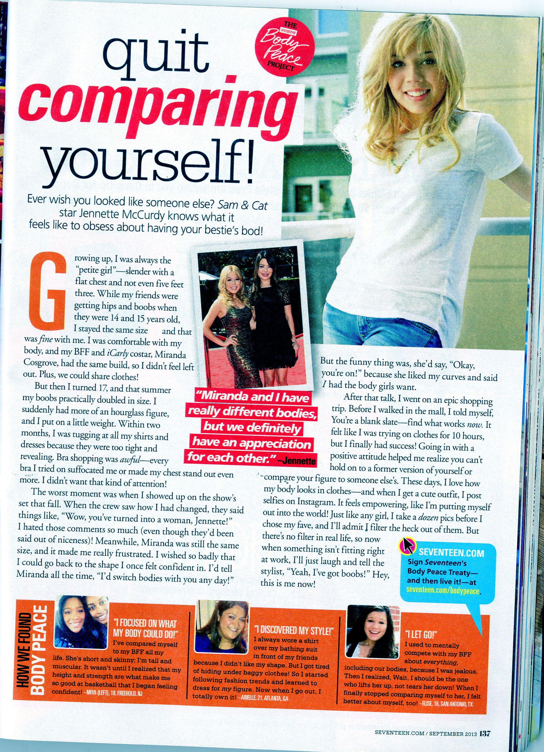 Seventeen Magazine Articles