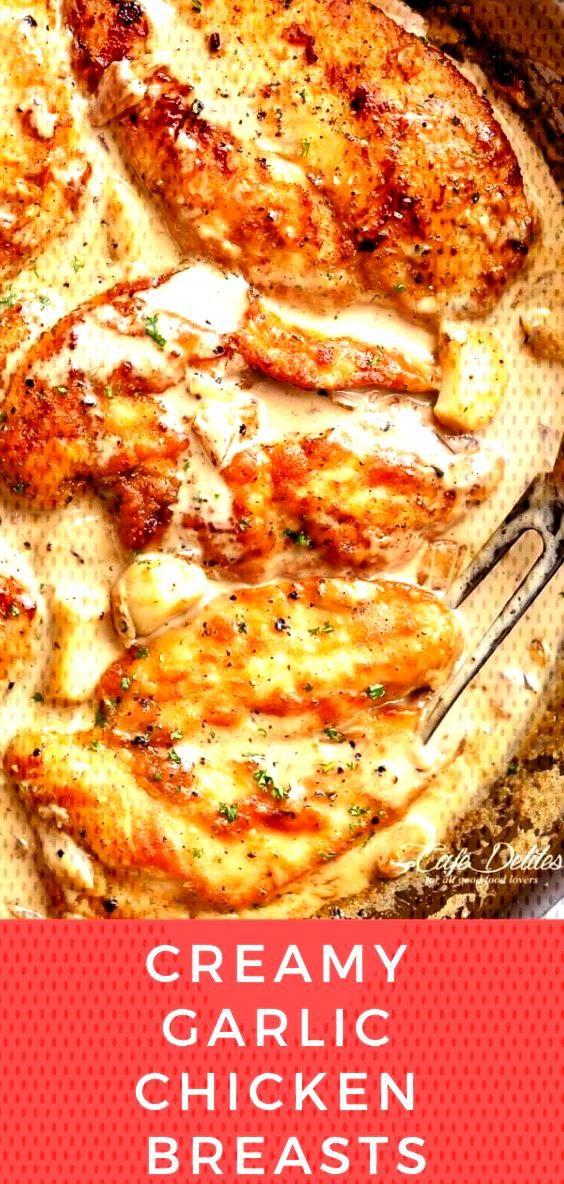 creamy garlic chicken breasts creamy garlic chicken breasts
