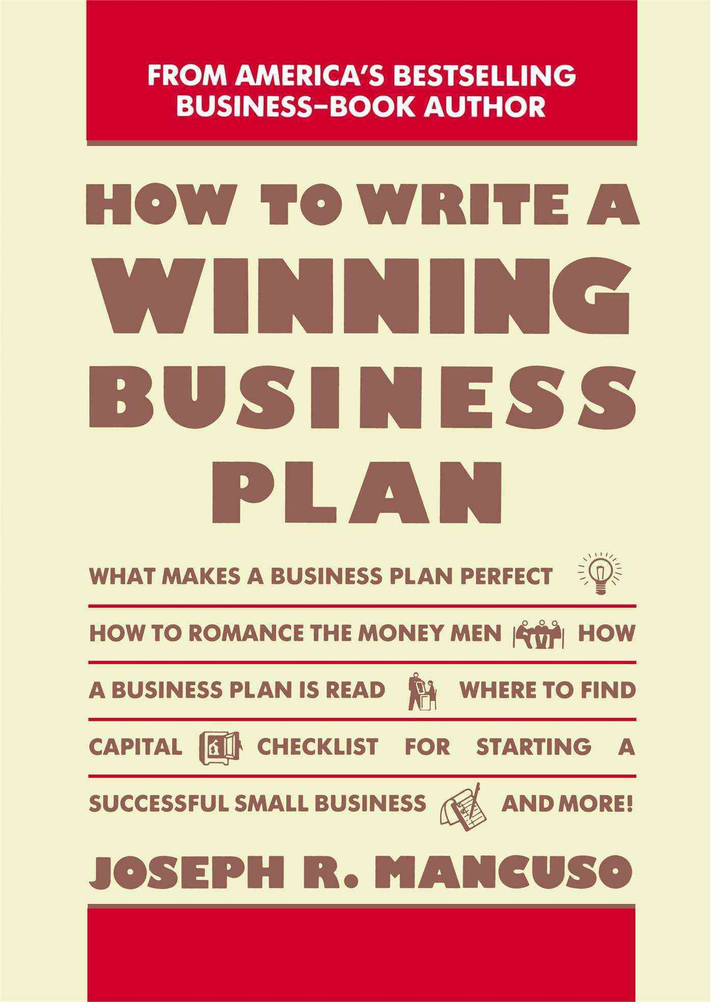 Writers business plan