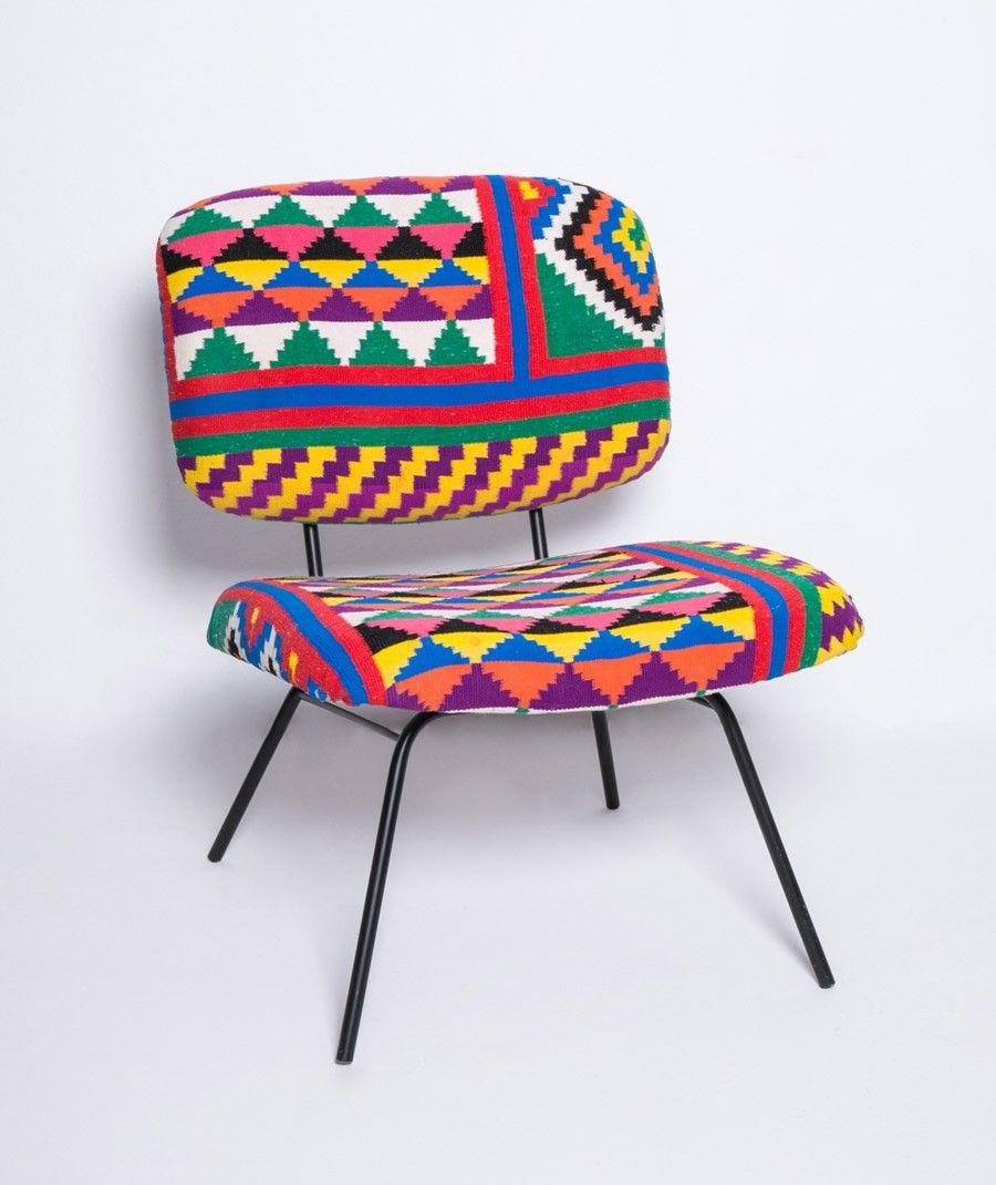 fauteuil en kilim rock the kasbah fauteuils pinterest rock fauteuils et chauffeuse. Black Bedroom Furniture Sets. Home Design Ideas