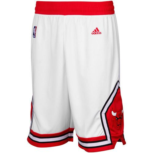 Chicago Bulls Red Swingman Shorts by Adidas