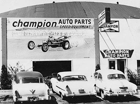 Pictures Of Old Garages And Speed Shops In The 50 S 60 S Old Gas