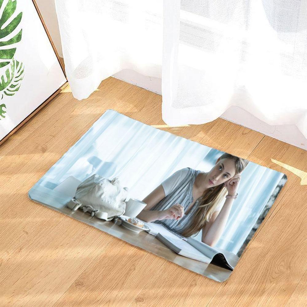 After Badematten Rutschfest Und Waschbar Badezimmer Teppich Fussmatte Fussabtreter Decor Bath Mat Rugs