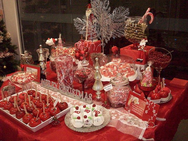 Christmas Candy buffet bar | Christmas candy, Buffet and Bar