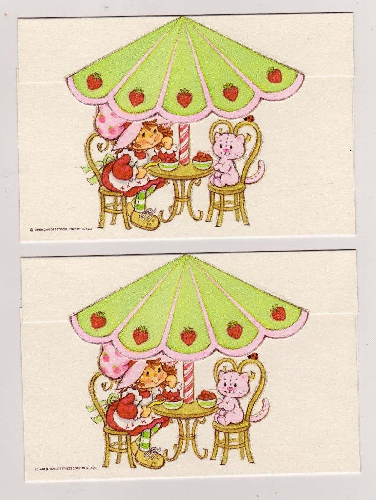 Httpebayitmvtg tcfc strawberry shortcake blank note httpebayitmvtg tcfc m4hsunfo