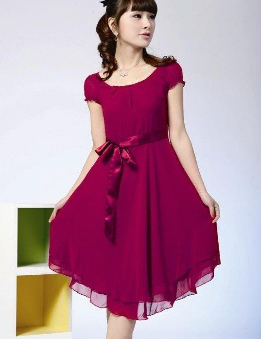minihems.com short-chiffon-dress-12 #shortdresses | Dresses ...