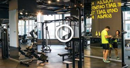 Fitnes Club Interior Designs & Decorating Ideas (PALESTRA Fitness Club) #fitness