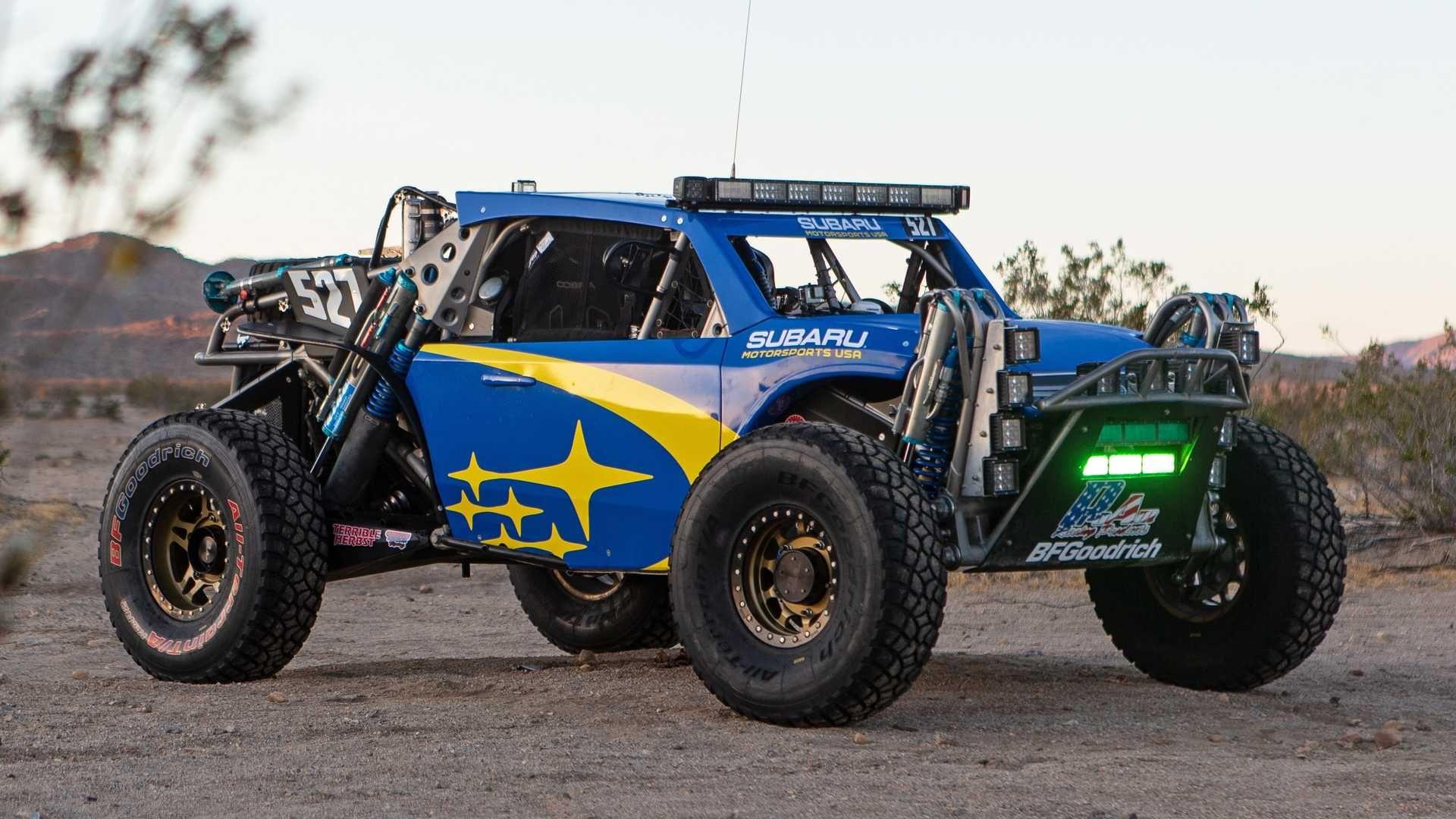 Subaru Crosstrek Desert Racer Looks Ready To Beat Baja Subaru Crosstrek Subaru Offroad Vehicles