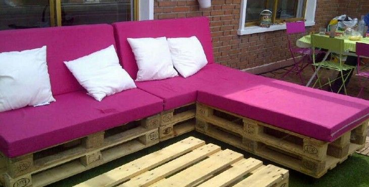 Terraza chill out con palets sofas de palets pinterest for Terrazas con sofas