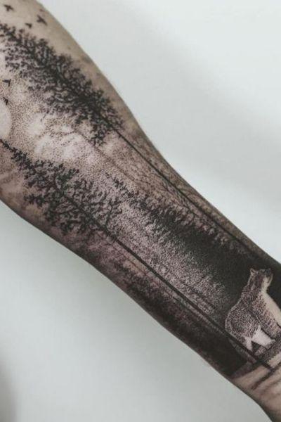 20 Idees De Tatouage En Dotwork L Art Du Point Idees De Tatouage