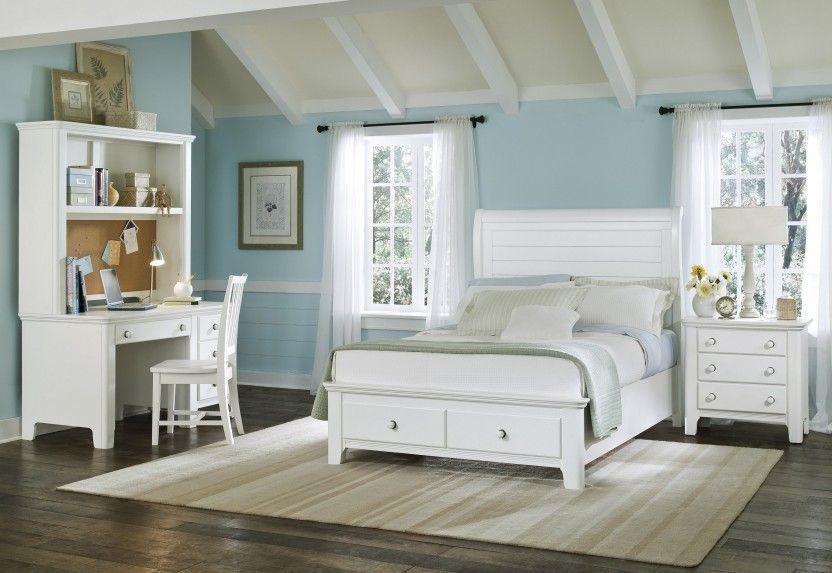 Coastal Bedroom Furniture On Alexander Julian S Beach Cottage White Storage 3js