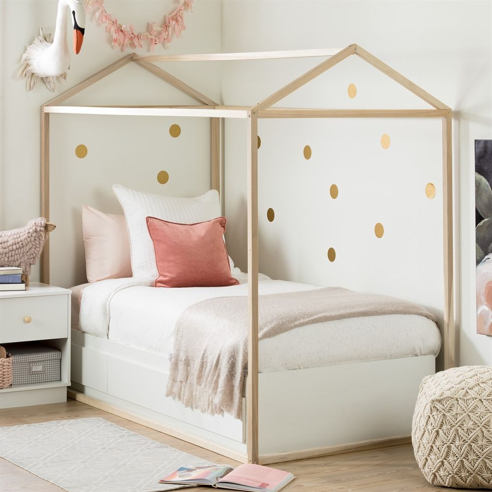 South Shore Furniture Sweedi House Bed Frame Lowe S Canada