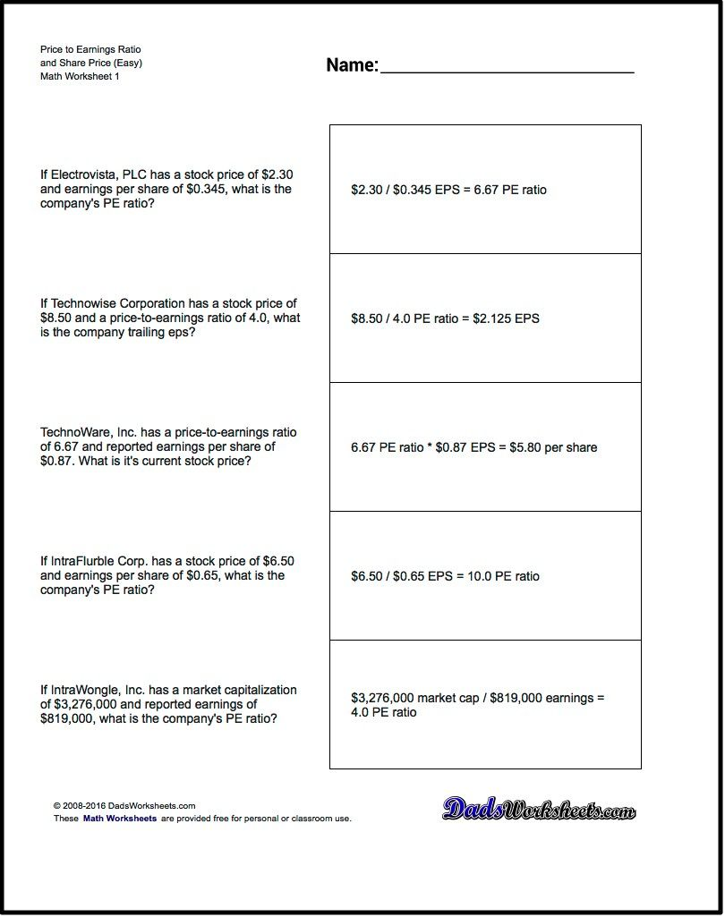 on investing math worksheet answers eeb78d830519d6cd1298941ba07fa888 hbkfcx