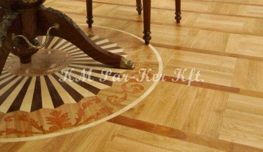 Wood Inlay Floor Medallion Ahap Deme Wood Flooring