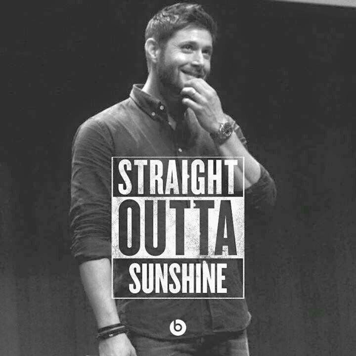 Straight Outta.......... Jensen Ackles (From addicted to dean winchester fb page)
