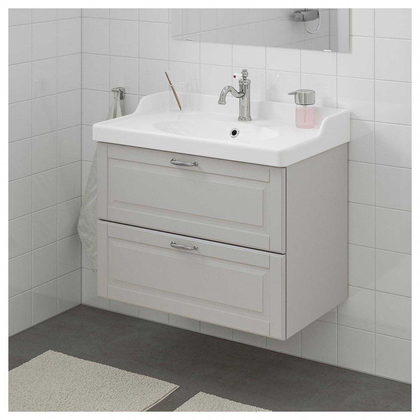 Ikea Godmorgon Rattviken Bathroom Vanity Kasjon Light Gray Ikeabathroom Ikea Godmorgon Bathroom Vanity Sink Cabinet