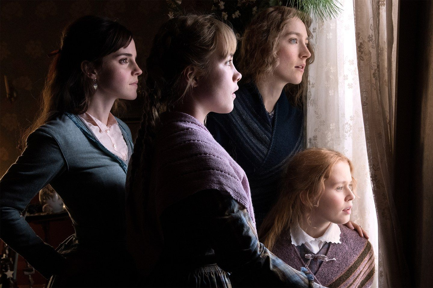 Florence Pugh Barefoot >> Exclusive First Look Greta Gerwig And Saoirse Ronan S