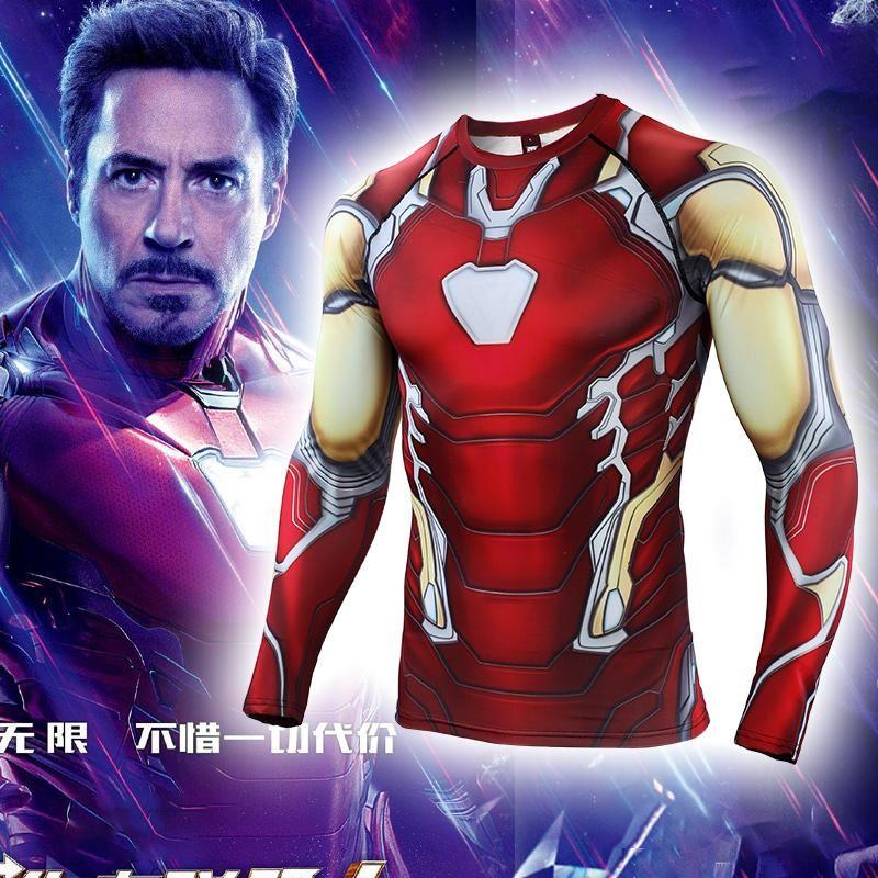 df1d0a424bfde Avengers 4: endgame Iron Man Tony Clothes Marvel Long / Short Sleeve T-Shirt
