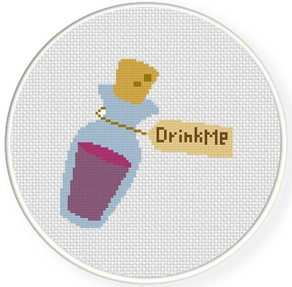 Drink me potion Illustraition