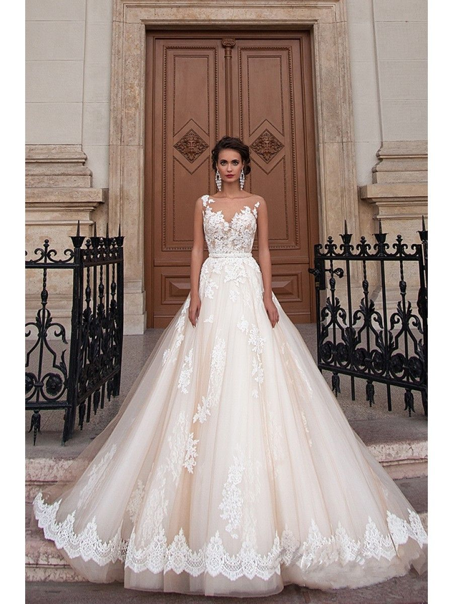 Wedding dress for pear shaped   Lace See Through Wedding Dress  Best Wedding Dress for Pear