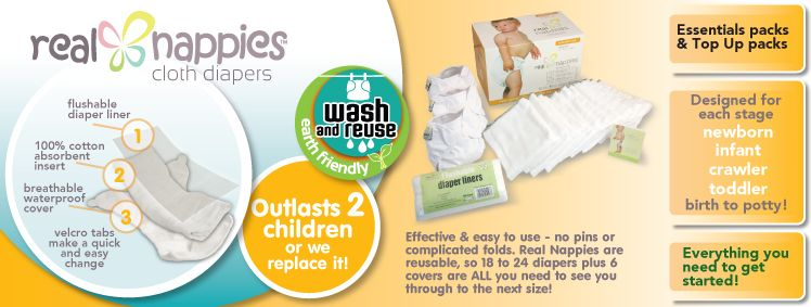 real nappies cloth diapers