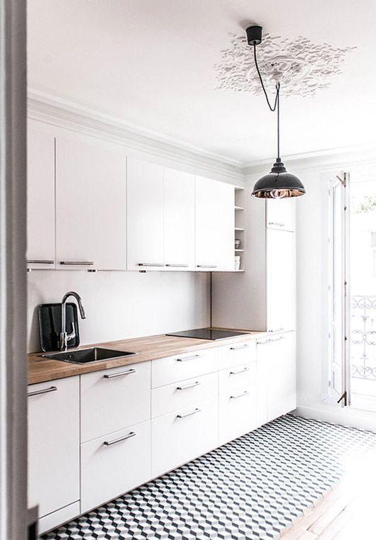 Pin von Olivia auf dream home Pinterest Die küche, Küche und - einbauküchen für kleine küchen