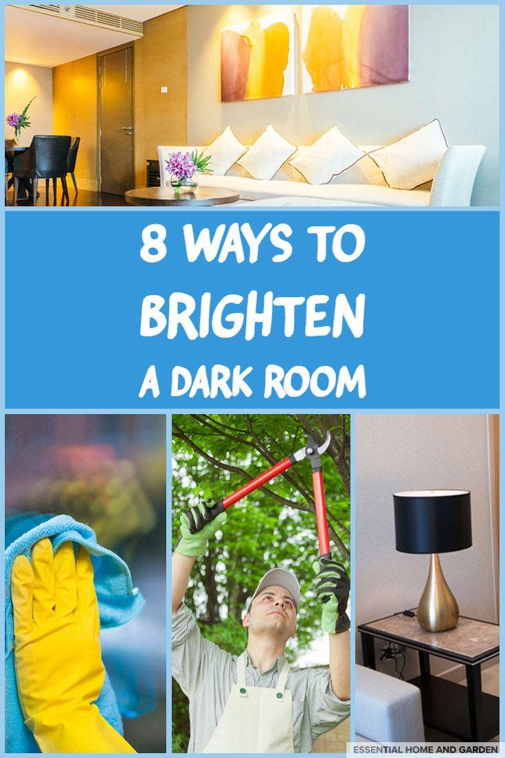 8 Ideas On How To Brighten A Dark Room Dark Living Rooms