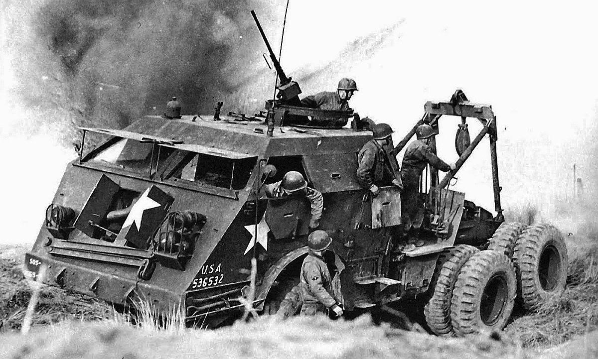 Engineer Vehicle Normandy Summer 1944 History Wars