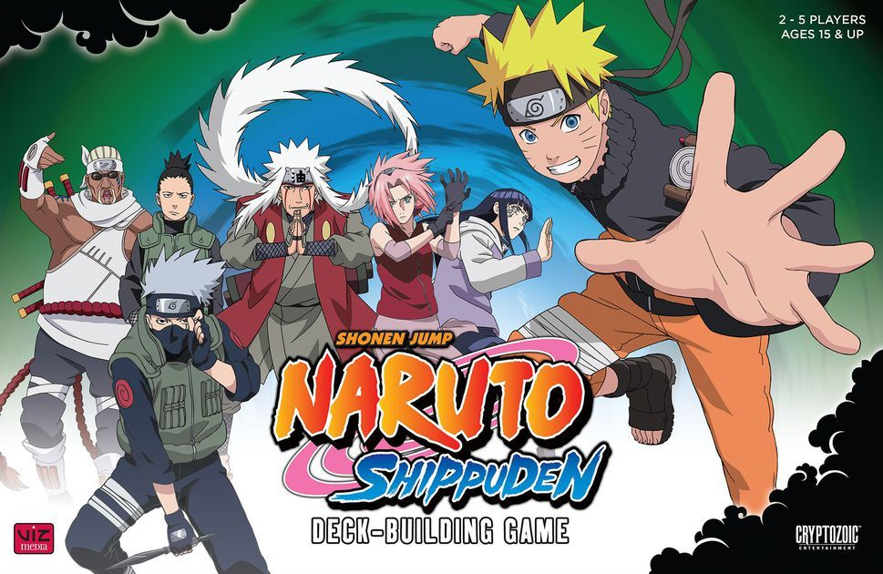 """""""In the Naruto Shippuden DeckBuilding Game, you play as"""